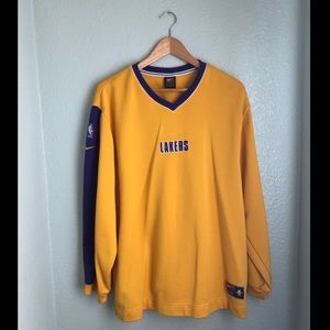 Nike NBA Authentic Team Pullover LA Lakers- Lg